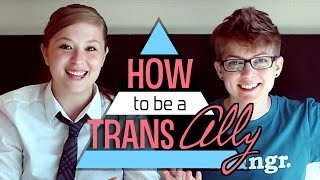 How To Be a Trans Ally