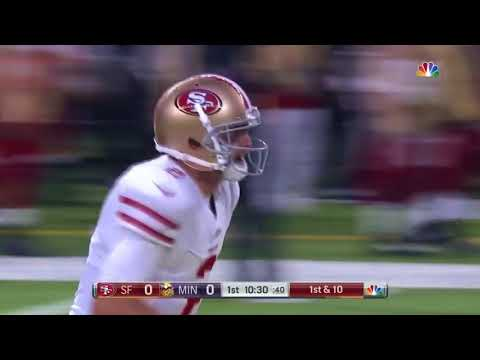 Marquise Goodwin torches Vikings secondary on 46 yard TD!