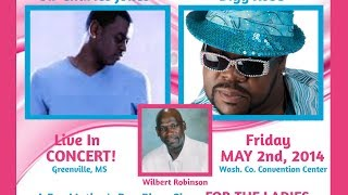 Sir Charles Jones, Bigg Robb & Wilbert Robinson Live In Concert! GREENVILLE, MS