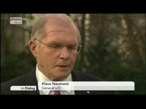 General a. D. Klaus Naumann im Dialog mit Michael Krons am 15.03.2014