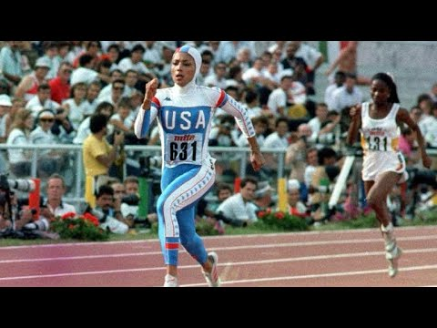FASTEST WOMAN IN HISTORY | FLO JO HIGHLIGHTS