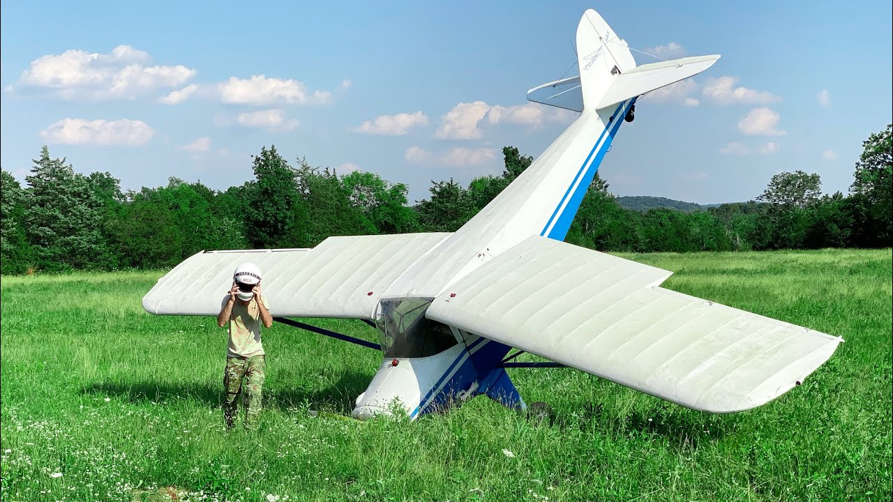 I bought a plane and accidentally crashed in 3 minutes