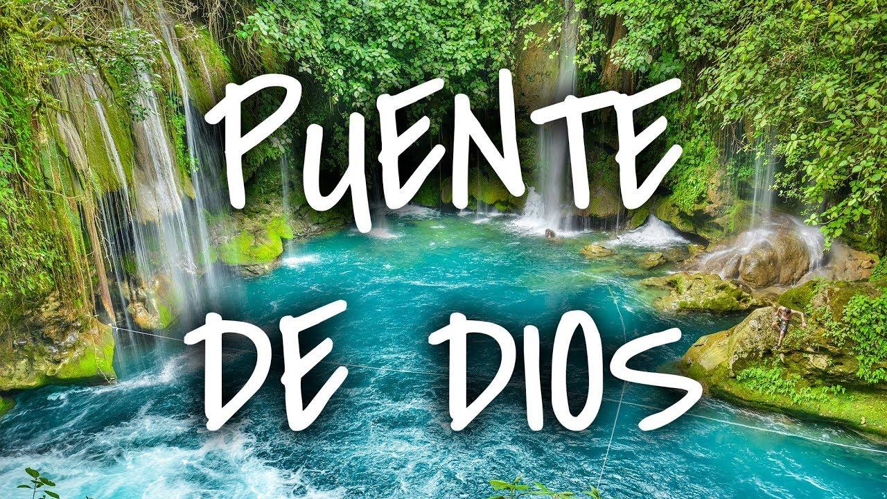 Arrastrados En La Huasteca Puente De Dios Sin Postal Vlog Youtube
