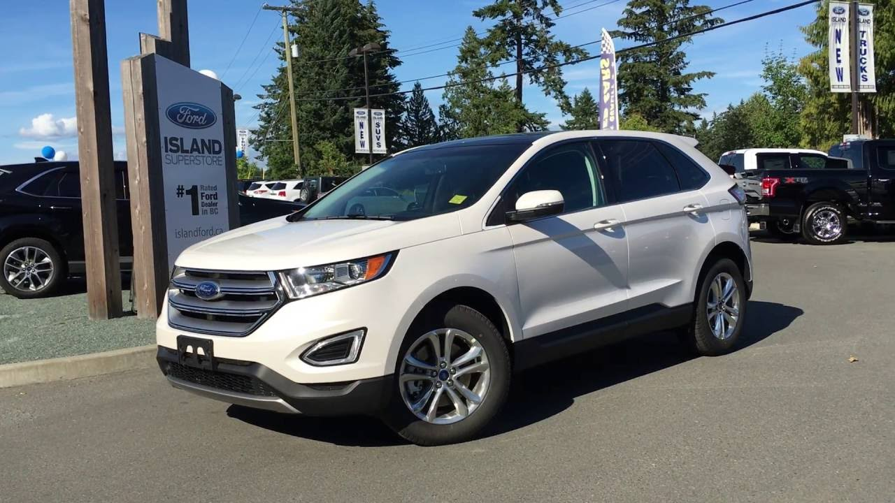 Ford Edge Towing Capacity >> 2016 Ford Edge Sel Awd Trailer Tow Foot Activated Lift Gate Review Island Ford