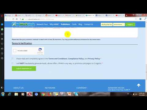 Earn $1000 From CPA Marketing - Adworkmedia Registration Process Full Tutorial 2018 , Adworkmedia