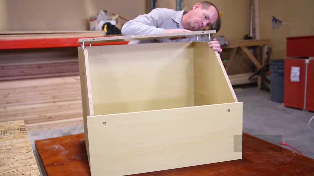 Corner Base Cabinet Assembly   Single Door | Knotty Alder Cabinets.  KnottyAlderCabinets.com