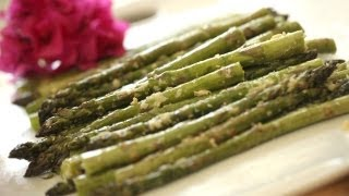 How To Make Grilled Parmesan Asparagus || Kin Eats