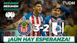Resumen y goles | Chivas 3 - 2 Querétaro | Liga Mx - AP 19 - J18 | TUDN