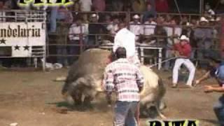 """El Mejor Jaripeo de La Feria Pololcingo 2010..""""Rancho La Candelaria y Banda Chilacachapa"""""""