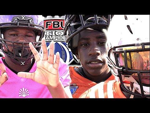 🔥🌴6th Grade  | Dade County (FL) vs Dallas (TX)- FBU National Championship Quarterfinal
