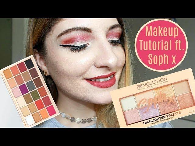 Makeup revolution soph x palette looks