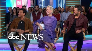 Katy Perry, Luke Bryan and Lionel Richie dish on new \'American Idol\' | GMA