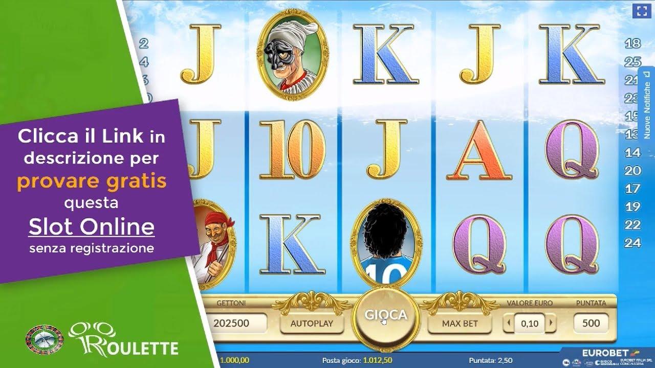 Giochi Slot Machine Online Gratis Napoli E Youtube