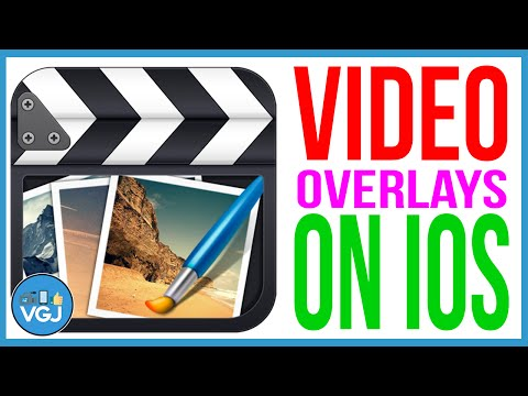 How To Create Video Overlays & Background Using An IPhone Or IPad - Featuring Clash Royale
