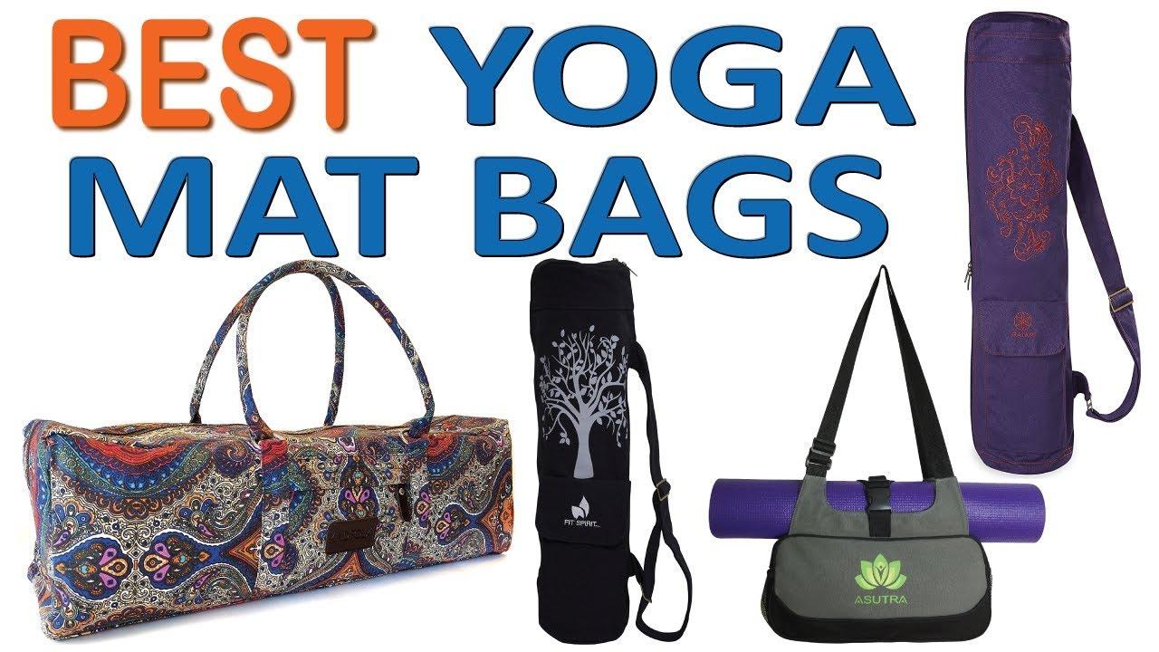 Top 7 Best Yoga Mat Bags of 2018 - YouTube f11891ec7ad6a