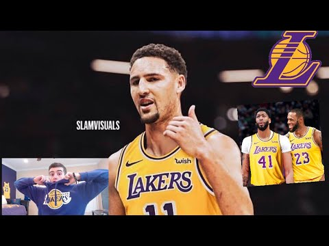 2c3470cf4 KLAY THOMPSON JOINING LAKERS IF THEY TRADE FOR ANTHONY DAVIS   NBA RUMORS