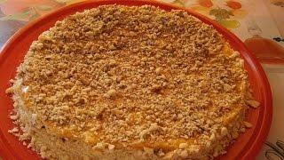 Песочный торт. Легко и быстро!