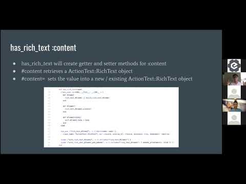 Introduction to ActionText - RubySG