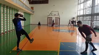 Тренировка по бейсболу, февраль 2018, Восточные Викинги. Харьков.