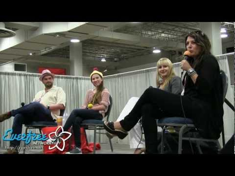 MLP Voice Actor panel - ANIMATE! Miami 2013