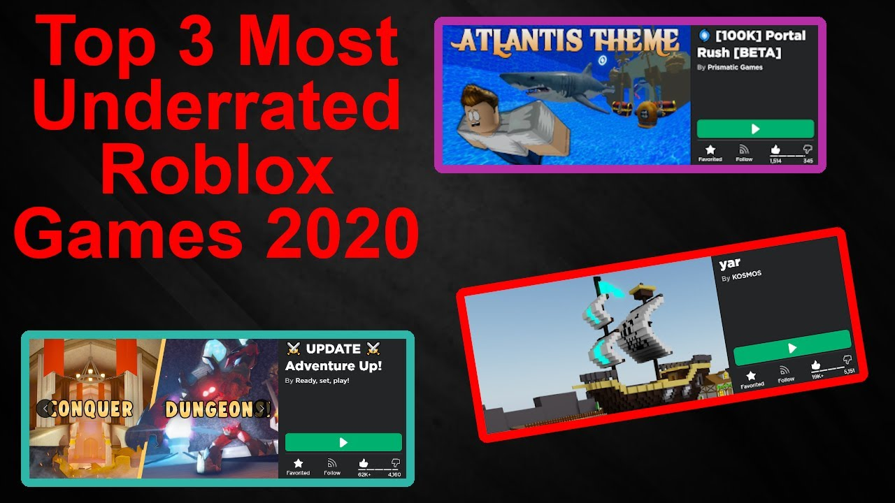 Best Roblox Games To Play When Your Bored 2020 Youtube