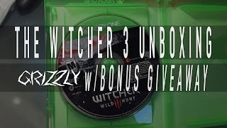 The Witcher 3: Wild Hunt Unboxing - Bonus Giveaway Info!