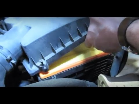 how to change air filter land rover lr2 2008