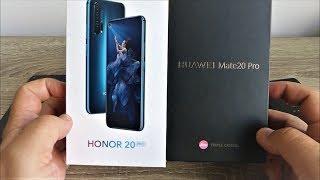 Huawei Mate 20 Pro czy Honor 20 Pro. Który wybrać?