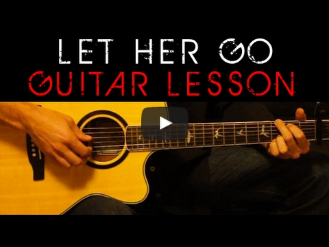Passenger Let Her Go Easy Acoustic Guitar Tutorial Lesson Cover