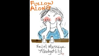 Follow Along Facial Massage | Full Version | Lymphatic Drainage Face Massage | Anti-Aging Massage