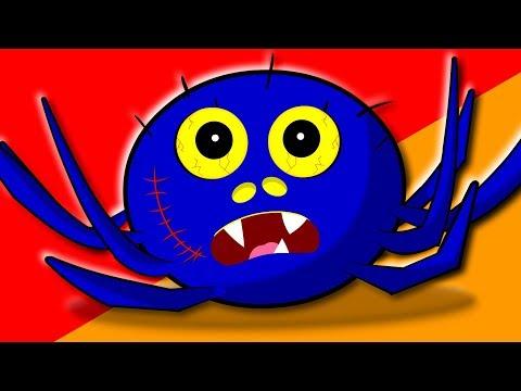 Incy Wincy Spider | Scary Rhymes | Nursery Rhymes | Kids Songs