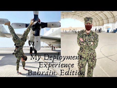 Navy Deployment to Bahrain (Barracks Tour Included)