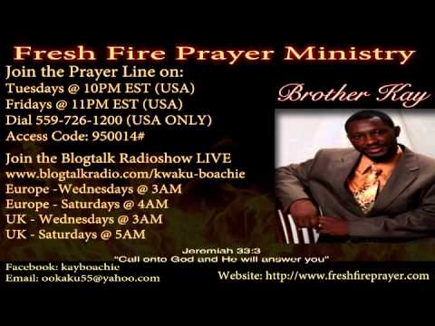 BROTHER KAY PRAYER LINE: NEW YEARS EVE FASTING AND PRAYERS - YouTube