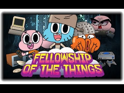 The Amazing World Of Gumball - Fellowship Of The Things - Gumball Games