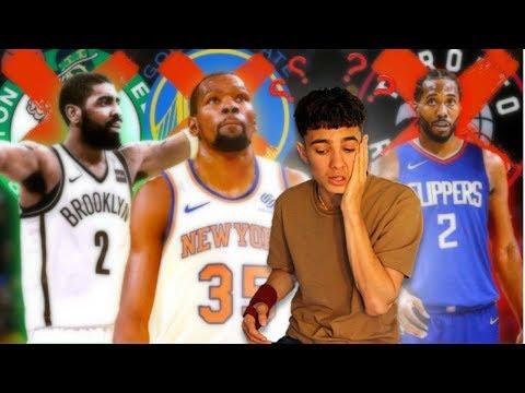 NBA Free Agency Predictions [2019 Off-Season]