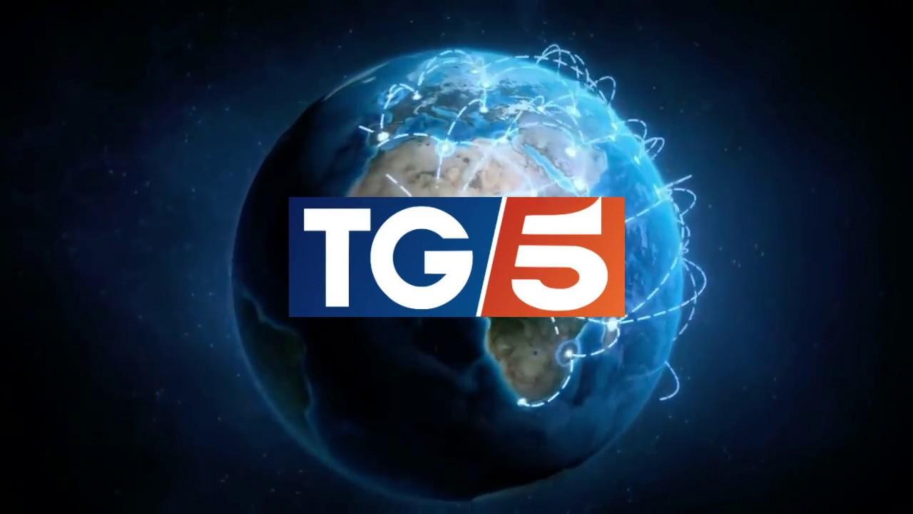 CREAZIONE - Prototipo sigla TG5 2018 - YouTube