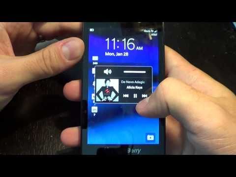 Music and Video Players on BlackBerry 10
