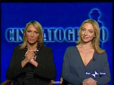 Simona Branchetti Hot >> Branchetti e de Sanctis a Cinematografo - YouTube