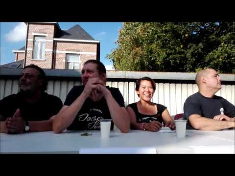 Chilifest Belgium / Belgie  2017. Chili eating contest. Winner Gerebernus.