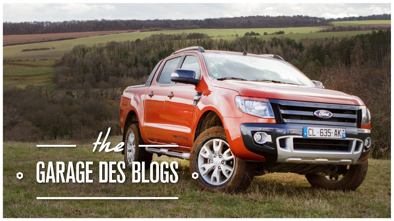 Ford ranger wildtrak 4x4 le garage des blogs youtube for Garage de 4x4