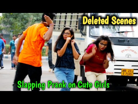Slapping Prank Deleted Clips or Unseen Parts PrankBuzz