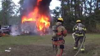 Lafd Travel Trailer Fire