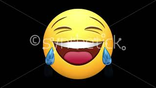 Stock Video. Emojis. Happy, love, laugh, ROFL, neutral, wow. Several versions. Alpha channel.