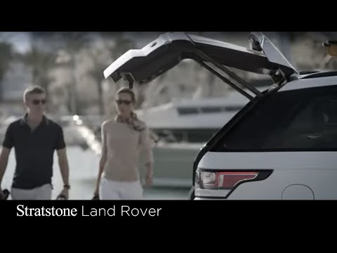 Range Rover Sport accessories and deployable side steps with Stratstone