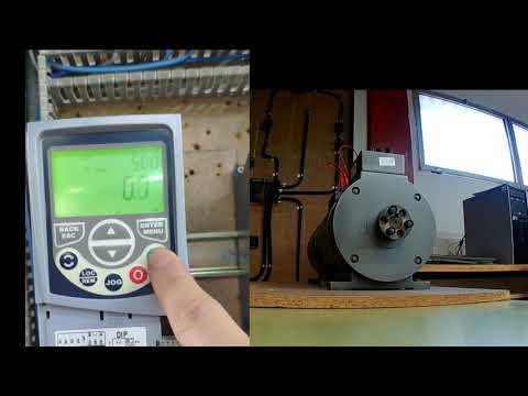 Práctica convertidor de frecuencia WEG CFW500