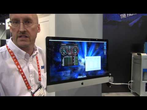 CES 2013 OWC Newer Technology NuMount Pivot Wall Mount iMac & Apple displays