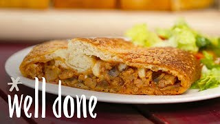 How to Make Sausage Stromboli | Recipe | Well Done