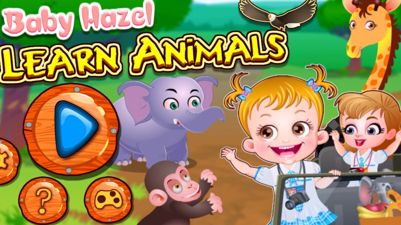 Baby Hazel Learn Animals - Play free online Baby Hazel Games
