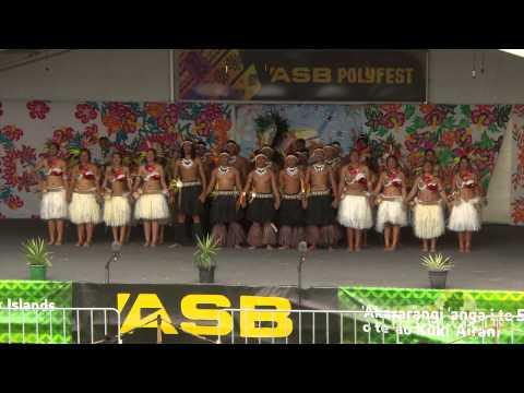 Polyfest 2015 Cook Islands Stage Mangere College