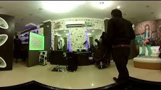 360 Degree Virtual Tour - Matrix Salon Moga - VR Video